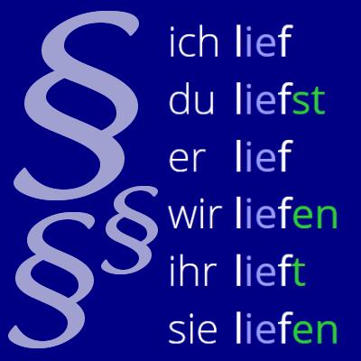 Beherrschst du alle Regeln der deutschen Konjugation?