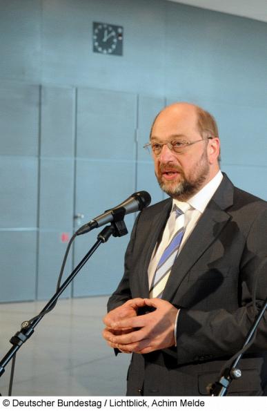 """Schulz: """"eine krachende Niederlage haben hinnehmen müssen"""""""